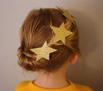 A las más pequeñas de la casa también les gusta estar guapas. Con este peinado lucirán como auténticas princesas. (Imagen: oliviacarter blog)